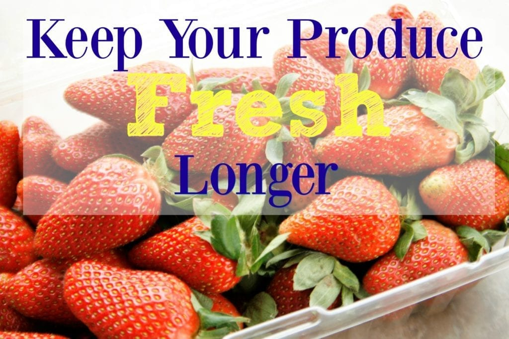 How to Keep Your Produce Fresh Longer
